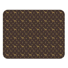 Louis Weim Luxury Dog Attire Double Sided Flano Blanket (large)