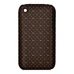 Louis Dachshund  Luxury Dog Attire Iphone 3s/3gs