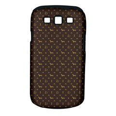Louis Dachshund  Luxury Dog Attire Samsung Galaxy S Iii Classic Hardshell Case (pc+silicone)