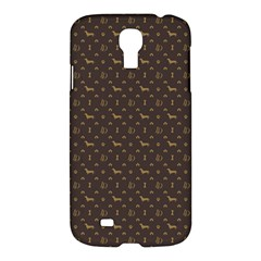 Louis Dachshund  Luxury Dog Attire Samsung Galaxy S4 I9500/i9505 Hardshell Case