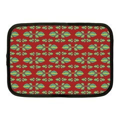 Tropical Stylized Floral Pattern Netbook Case (medium)