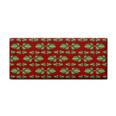 Tropical Stylized Floral Pattern Cosmetic Storage Cases