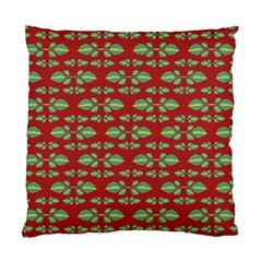 Tropical Stylized Floral Pattern Standard Cushion Case (two Sides)