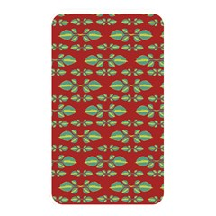 Tropical Stylized Floral Pattern Memory Card Reader