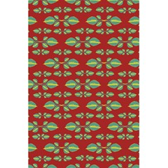 Tropical Stylized Floral Pattern 5 5  X 8 5  Notebooks