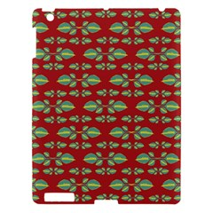 Tropical Stylized Floral Pattern Apple Ipad 3/4 Hardshell Case