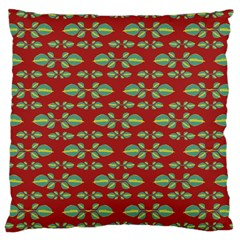 Tropical Stylized Floral Pattern Large Cushion Case (two Sides)