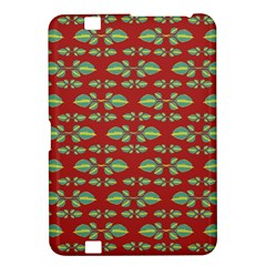 Tropical Stylized Floral Pattern Kindle Fire Hd 8 9