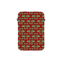 Tropical Stylized Floral Pattern Apple Ipad Mini Protective Soft Cases