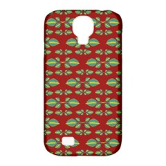 Tropical Stylized Floral Pattern Samsung Galaxy S4 Classic Hardshell Case (pc+silicone)