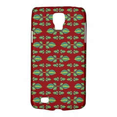 Tropical Stylized Floral Pattern Galaxy S4 Active