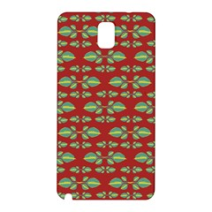 Tropical Stylized Floral Pattern Samsung Galaxy Note 3 N9005 Hardshell Back Case