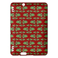 Tropical Stylized Floral Pattern Kindle Fire Hdx Hardshell Case