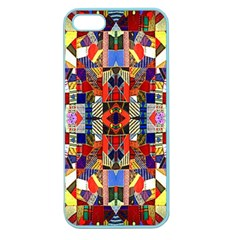 Pattern 35 Apple Seamless Iphone 5 Case (color)
