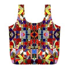Pattern 35 Full Print Recycle Bags (l)