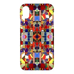 Pattern 35 Apple Iphone X Hardshell Case
