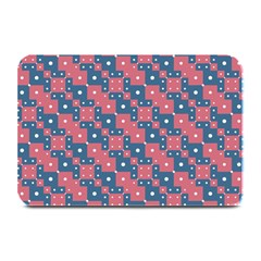 Squares And Circles Motif Geometric Pattern Plate Mats