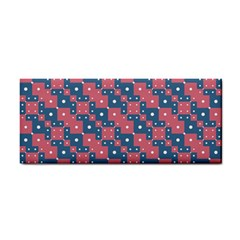 Squares And Circles Motif Geometric Pattern Cosmetic Storage Cases