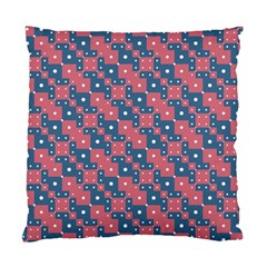 Squares And Circles Motif Geometric Pattern Standard Cushion Case (one Side)