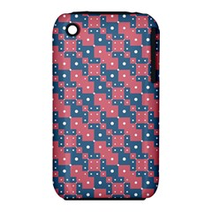Squares And Circles Motif Geometric Pattern Iphone 3s/3gs