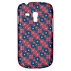 Squares And Circles Motif Geometric Pattern Galaxy S3 Mini