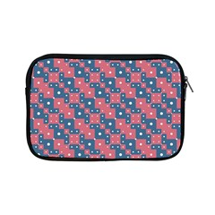 Squares And Circles Motif Geometric Pattern Apple Ipad Mini Zipper Cases