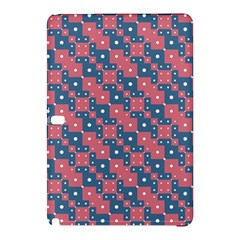 Squares And Circles Motif Geometric Pattern Samsung Galaxy Tab Pro 10 1 Hardshell Case