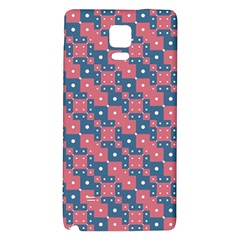 Squares And Circles Motif Geometric Pattern Galaxy Note 4 Back Case