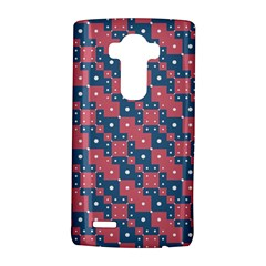 Squares And Circles Motif Geometric Pattern Lg G4 Hardshell Case