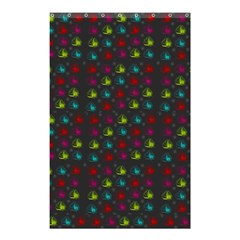 Roses Raining For Love  In Pop Art Shower Curtain 48  X 72  (small)