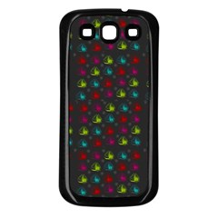 Roses Raining For Love  In Pop Art Samsung Galaxy S3 Back Case (black)