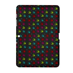 Roses Raining For Love  In Pop Art Samsung Galaxy Tab 2 (10 1 ) P5100 Hardshell Case