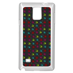 Roses Raining For Love  In Pop Art Samsung Galaxy Note 4 Case (white)