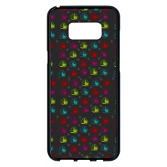 Roses Raining For Love  In Pop Art Samsung Galaxy S8 Plus Black Seamless Case