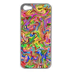 Colorful 2 Apple Iphone 5 Case (silver)