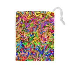 Colorful 2 Drawstring Pouches (large)