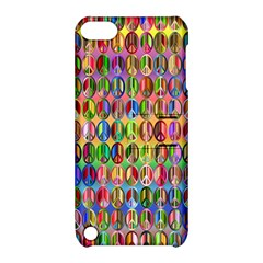 Peace Sign Apple Ipod Touch 5 Hardshell Case With Stand