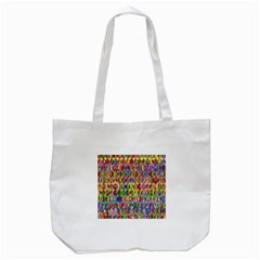 Peace Sign Tote Bag (white)