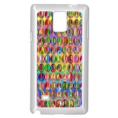 Peace Sign Samsung Galaxy Note 4 Case (white)