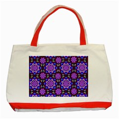 Colorful 3 Classic Tote Bag (red)
