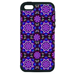 Colorful 3 Apple Iphone 5 Hardshell Case (pc+silicone)