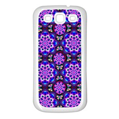 Colorful 3 Samsung Galaxy S3 Back Case (white)