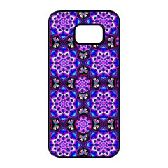 Colorful 3 Samsung Galaxy S7 Edge Black Seamless Case