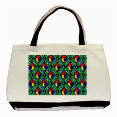 Colorful 4 Basic Tote Bag (two Sides)