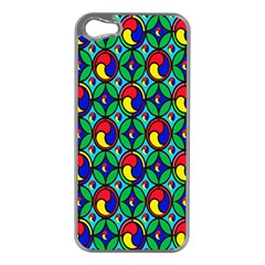 Colorful 4 Apple Iphone 5 Case (silver)