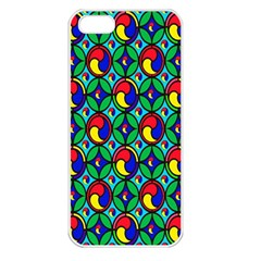 Colorful 4 Apple Iphone 5 Seamless Case (white)