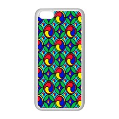 Colorful 4 Apple Iphone 5c Seamless Case (white)