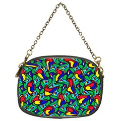 Colorful 4 1 Chain Purses (one Side)