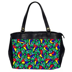 Colorful 4 1 Office Handbags (2 Sides)