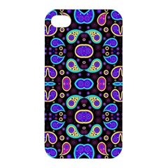 Colorful 5 Apple Iphone 4/4s Premium Hardshell Case